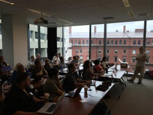 Software Carpentry Train the Trainers at Harvard University